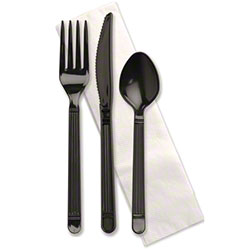 Plastic Cutlery Sets Wrapped