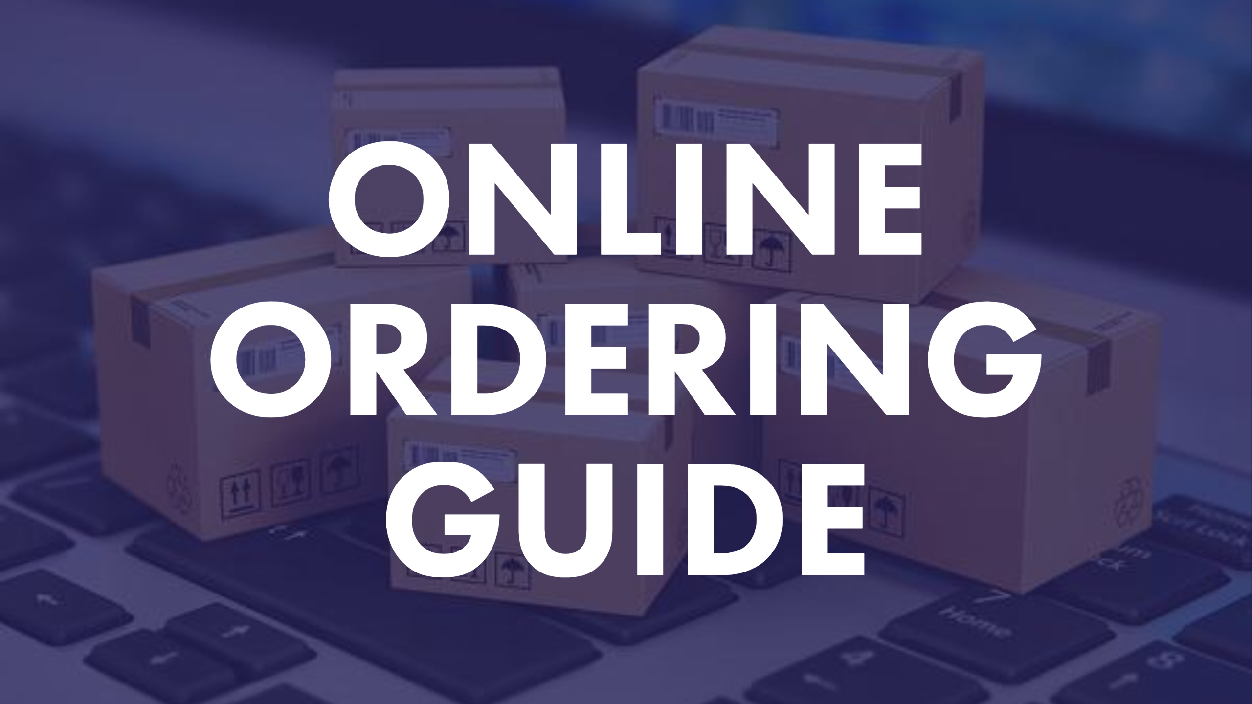 Online Ordering Guide